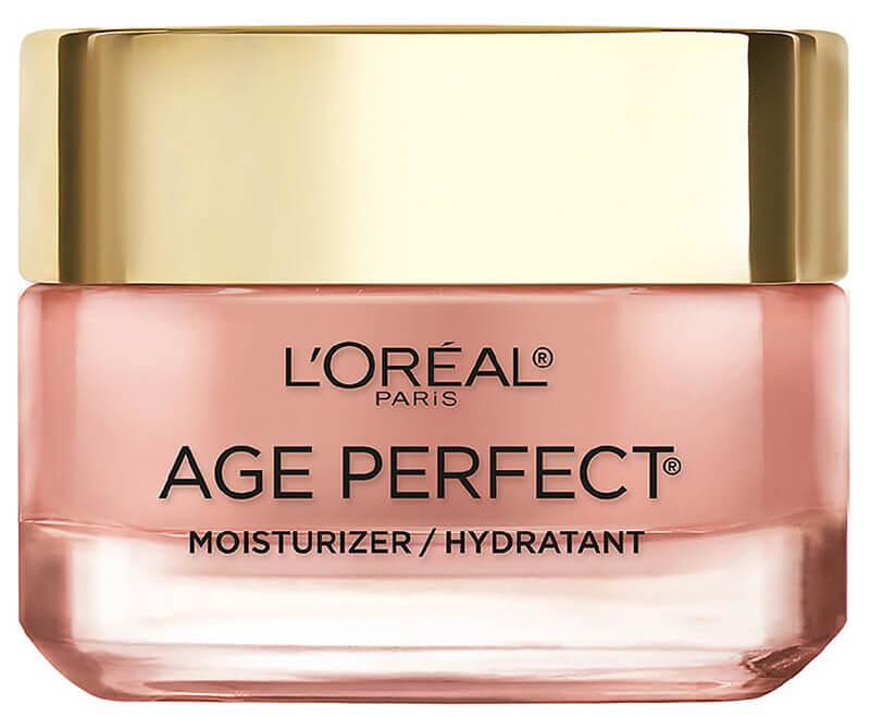 L'Oréal Paris Age Perfect di Renewal Rosy Tone Moisturizer có tác dụng dưỡng ẩm chống lão hóa