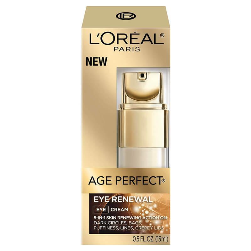Kem mắt L'Oréal Paris Age Perfect Eye Renewal Eye Cream giúp phục hồi nếp nhăn quanh mắt